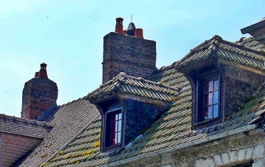 attic roof window