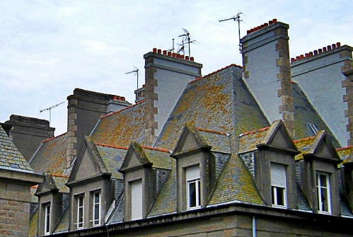 attic roof windows St Malo