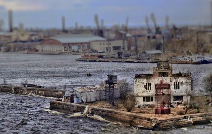 Leaving St. Petersburg