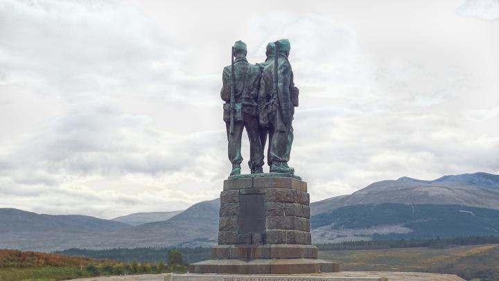 DSCN8700 Commando Memorial near Spean Bridge A82 sl 8x6